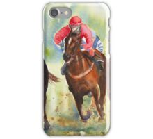 The Chase - horse racing iPhone case iPhone Case/Skin