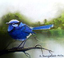 Early Morning Chatter  Sold by Sandra  Sengstock-Miller