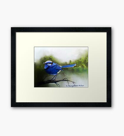 Early Morning Chatter  Sold Framed Print