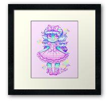 Kuma Kuma Doll~ Framed Print