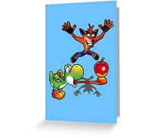 Apple challenge Greeting Card