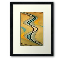 Twisting Framed Print