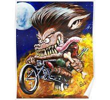 Werewolf on Wheels Poster