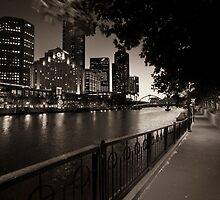 Melbourne Australia by Peter Hodgson