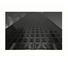 Canary Wharf Offices - Architecture Study Art Print
