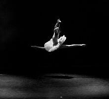 Floating on Stage by Alfredo Estrella