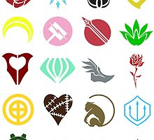 RWBY: Emblems by RenegadesNation
