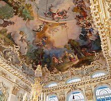 Schloss Nymphenburg - Ceiling of Steinerner Saal by Stanley Tjhie