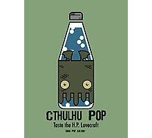 Cthulhu Pop - Taste the H.P. Lovecraft Photographic Print