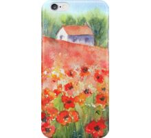 Poppy Field iPhone case iPhone Case/Skin