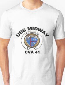 USS Midway (CVB/CVA/CV-41) Crest T-Shirt
