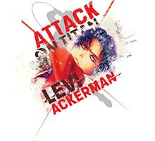 Levi Ackerman - Slash Photographic Print