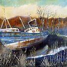 Venus, an Abandoned Trawler by Sue Nichol