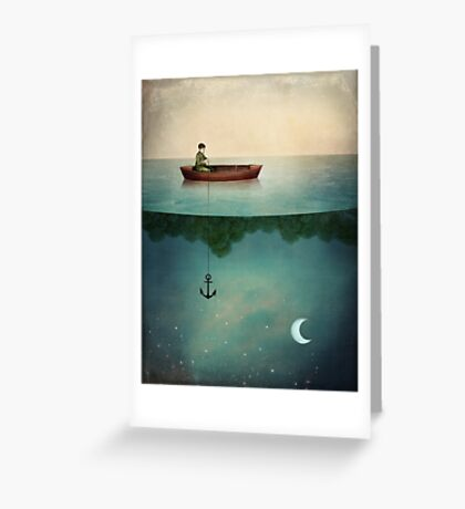 Entering Dreamland Greeting Card