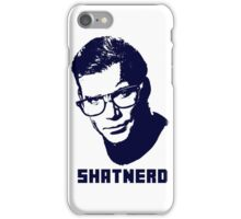 SHATNERD iPhone Case/Skin
