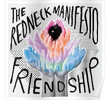 The Redneck Manifesto Friendship Cover Poster