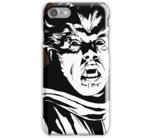 The Wolfman! Classic horror villain, pop art inspired iPhone Case/Skin