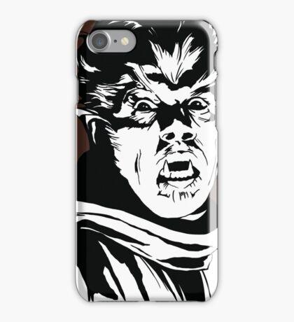 The Wolfman! Classic horror villain, pop art inspired iPhone Case/Skin