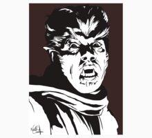 The Wolfman! Classic horror villain, pop art inspired One Piece - Short Sleeve