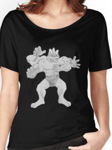 Machamp - B&W by Derek Wheatley Women's Relaxed Fit T-Shirt