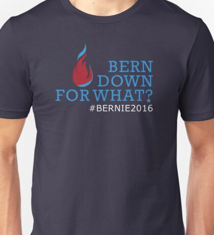 Bern Down for What? Unisex T-Shirt