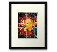 Life is Short... Framed Print