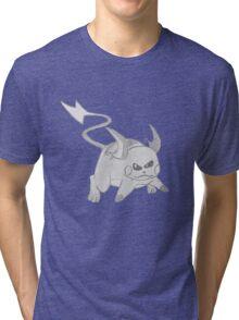 Raichu - B&W by Derek Wheatley Tri-blend T-Shirt