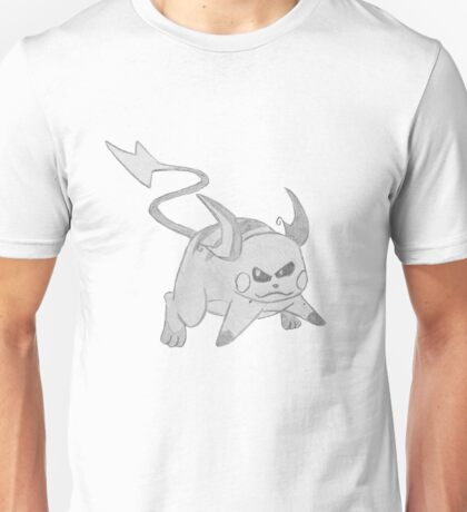 Raichu - B&W by Derek Wheatley T-Shirt