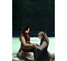 Regina&Emma FTL   Swan Queen Photographic Print