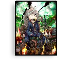 The messiah of the Wasteland Canvas Print