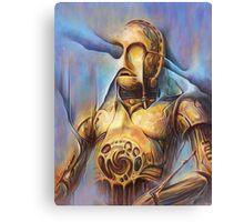 Tomek Biniek - C3PO Canvas Print