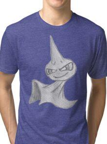Shuppet - B&W by Derek Wheatley Tri-blend T-Shirt