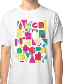 Graphic Alphabet Classic T-Shirt