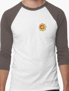 Thunder Badge (Pokemon Gym Badge) Men's Baseball ¾ T-Shirt