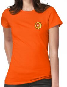 Thunder Badge (Pokemon Gym Badge) Womens Fitted T-Shirt