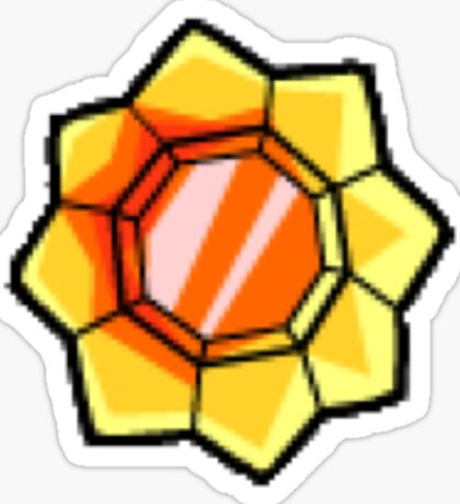 Thunder Badge (Pokemon Gym Badge) Sticker