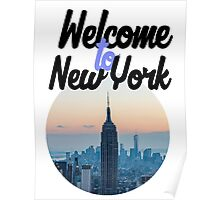 Welcome to New York  Poster
