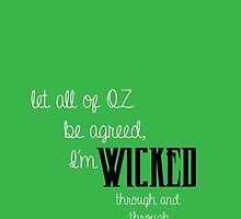 Wicked: No Good Deed Quote by bbmnpt