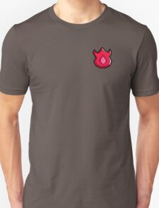 Volcano Badge (Pokemon Gym Badge) Unisex T-Shirt