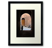 Sienna Alley Framed Print