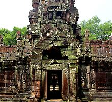 Temple of Preah Khan - Angkor, Cambodia. by Tiffany Lenoir