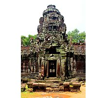 Temple of Preah Khan - Angkor, Cambodia. Photographic Print