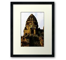 Sunrise on Angkor Wat IV - Angkor, Cambodia. Framed Print