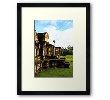 Sunrise on Angkor Wat VI - Angkor, Cambodia. Framed Print