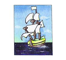 Sail Away by Carolyn Huane