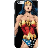 Wonder women super heroes iPhone Case/Skin