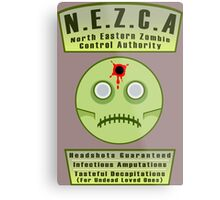 North Eastern Zombie Control Authority Metal Print