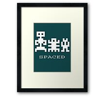 Spaced Framed Print