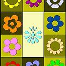 Flower collage by RosiLorz