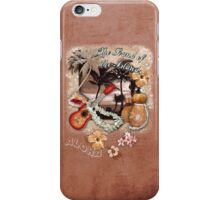 The Sound of the Islands iPhone Case/Skin